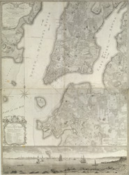 Plan of the City of New York in North America, Surveyed in the Years 1766 & 1767